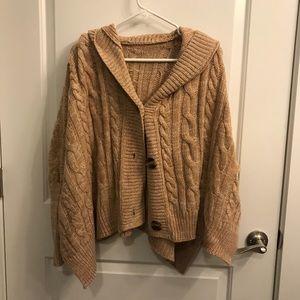 Sweaters - Brown Sweater Cardigan